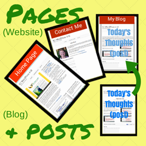Pages and Posts